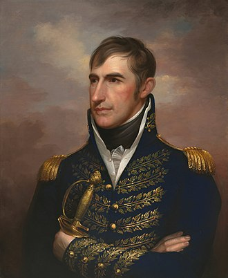 Battle of Tippecanoe - William Henry Harrison as painted by Rembrandt Peale in 1814