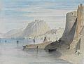 William Linton Blick in den Hafen von Nafplion.jpg