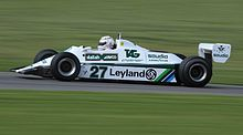 Photo de la Williams FW07