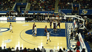 Ontario University Athletics - The Ottawa Gee Gees taking on the Windsor Lancers at the 2013 Wilson Cup semi final.