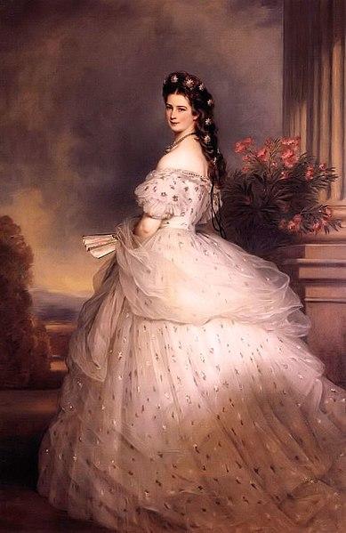 Kaiserin Elisabeth von Österreich 1865 (Franz Xaver Winterhalter).
