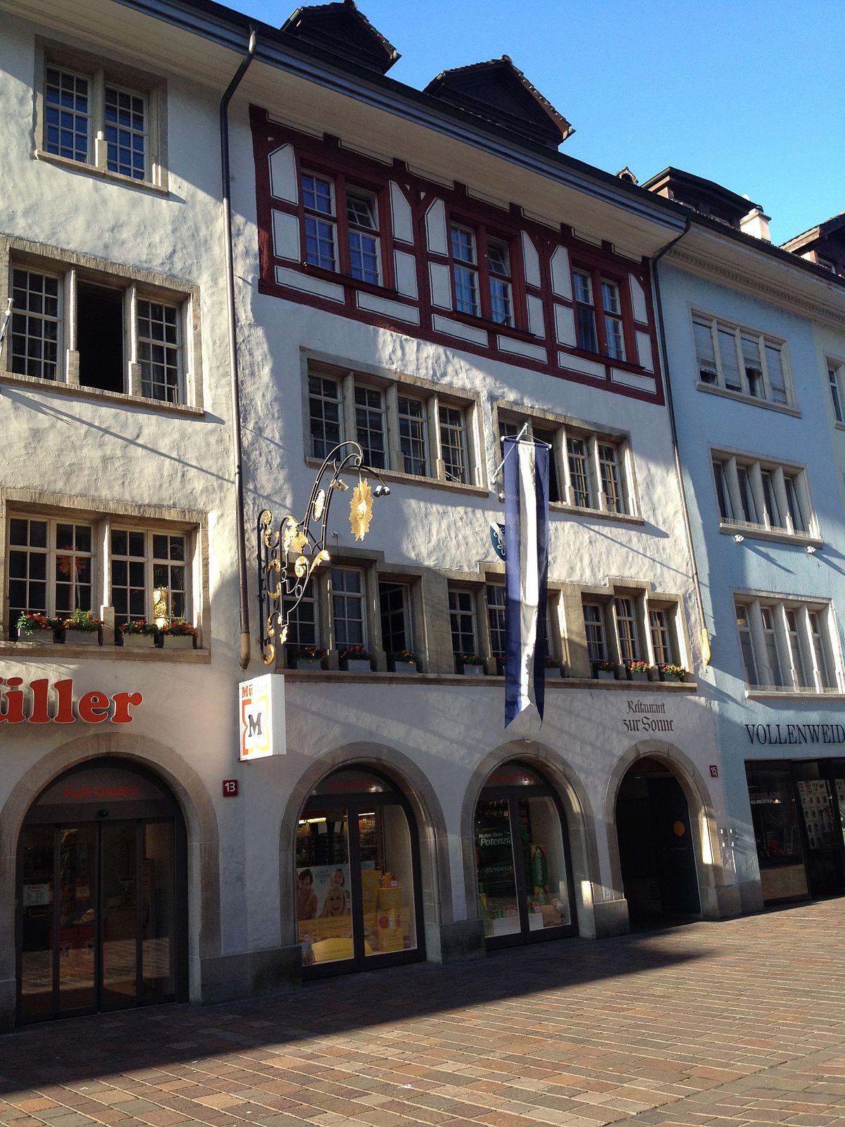 Haus zur Sonne (Winterthur) – Wikipedia