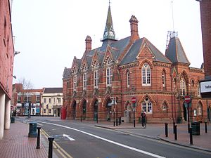 Wokingham - Image: Wokingham town hall