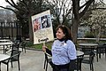 Woman with sign honoring her nephew who died in the 2007 Virginia Tech shooting - March for our Lives, Washington DC 2018.jpg
