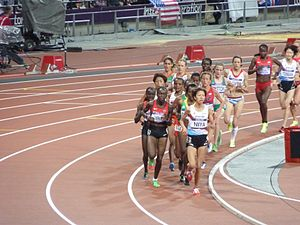 10,000 metres at the Olympics - The 2012 Olympic women's 10,000 m final