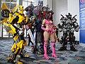 WonderCon 2012 - Mileena from Mortal Kombat surrounded by Autobots (7019458675).jpg