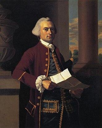 Woodbury Langdon - 1767, by John Singleton Copley