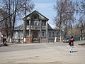 Wooden House on the crossroad - panoramio.jpg