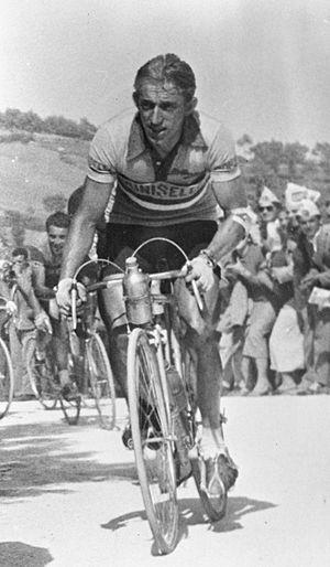 1955 Giro d'Italia - Image: Wout Wagtmans 1955