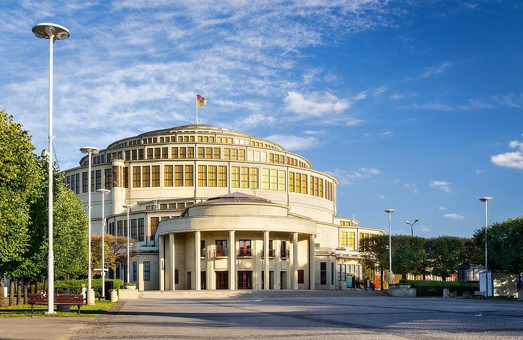 Halle du centenaire (Hala Stulecia) à Wroclaw - Photo de Jar.ciurus