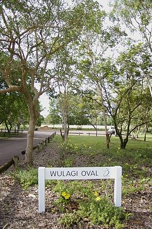 Wulagi, Northern Territory - Wulagi Oval