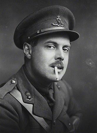 Wyndham Lewis - Wyndham Lewis, photograph by George Charles Beresford, 1917