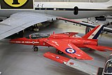 XR977 46 Hawker Siddeley Gnat T1 (cn FL574) Royal Air Force (Red Arrows). (14853895031).jpg