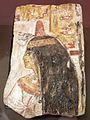 Xix dinastia, rilievo funerario con figura femminile di nome merit, da tebe, 1200 ac ca.jpg