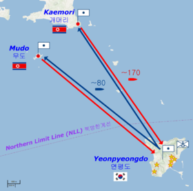 North Korea Artillary Bombardment Of Island