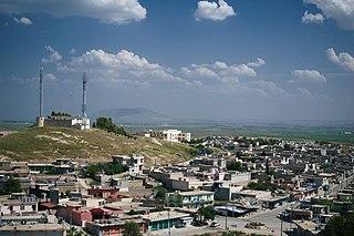 Baadra Town in Ninawa, Iraq