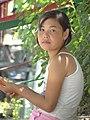 Young Girl in Chorsu Bazaar - Tashkent - Uzbekistan (7472124152).jpg