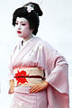 Young Japanese woman wearing a traditional festive aoutfit. Nagasaki, Nagasaki Prefecture, island of Kyushu, Japan..jpg