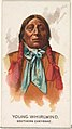 Young Whirlwind, Southern Cheyenne, from the American Indian Chiefs series (N2) for Allen & Ginter Cigarettes Brands MET DP828034.jpg