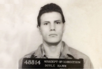 Ein Verhaftungsfoto von Doyle Hamm vom Februar 1981.
