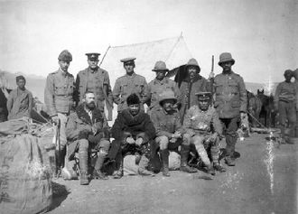British expedition to Tibet - Major Francis Younghusband leading a British force to Lhasa in 1904