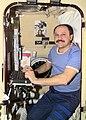 Yury Usachev in Russian crew quarters.jpg