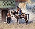 Yvan Pranishnikoff A Caucasian horseman.jpg