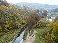 Zagórze Śląskie, zapora wodna na Jez. Bystrzyckim, 1912-1917 a.JPG
