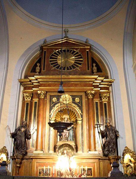 El mito de la Virgen del Pilar 458px-Zaragoza_-_Basilica_del_Pilar_24