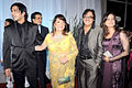 Zayed Khan, Zarine Khan, Sanjay Khan at Esha Deol's wedding reception 02.jpg