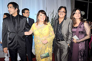 Sanjay Khan - Sanjay Khan at Esha Deol wedding in 2012.