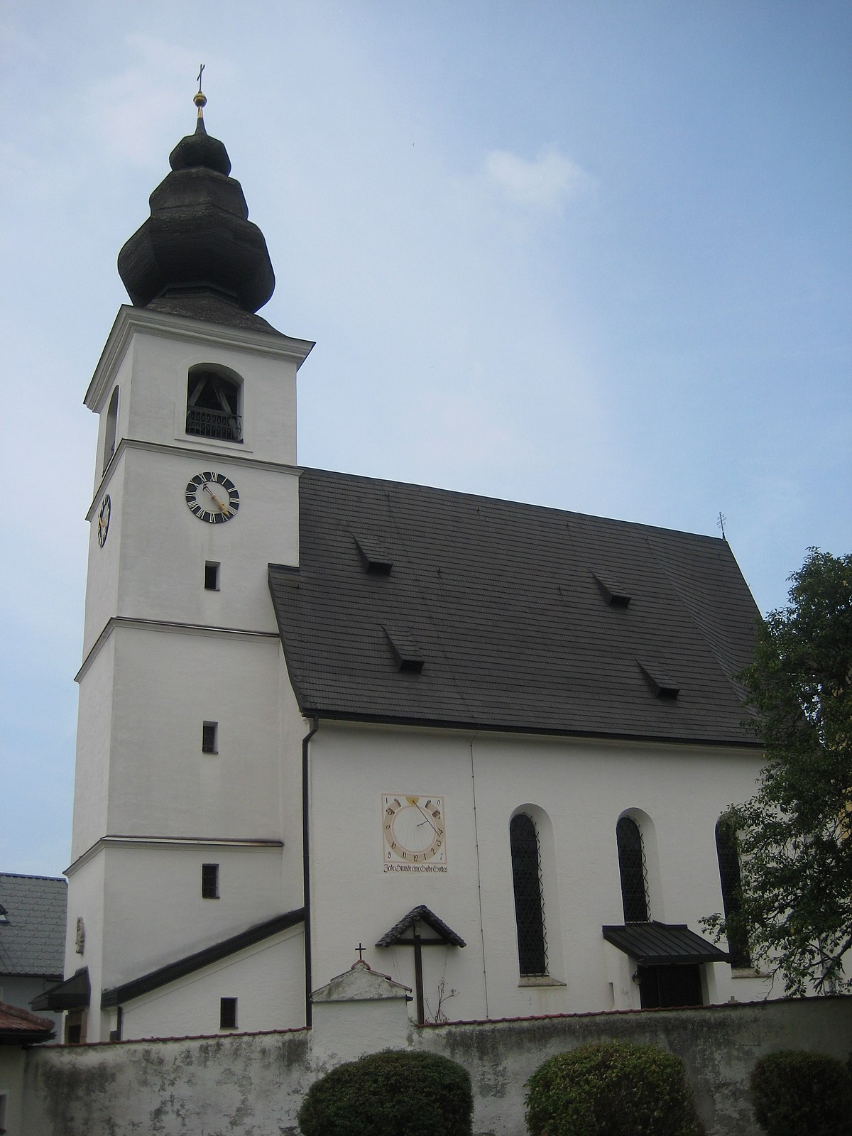 pfarrkirche zell am moos wikipedia. Black Bedroom Furniture Sets. Home Design Ideas