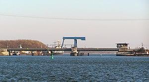 Stralsund–Sassnitz railway - Image: Ziegelgrabenbruecke Profil