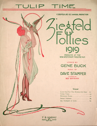 Dave Stamper - Sheet music for Tulip Time