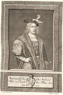 Stephen II, Duke of Bavaria Duke of Bavaria-Landshut