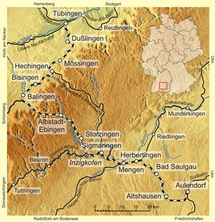 Tübingen–Sigmaringen railway railway line