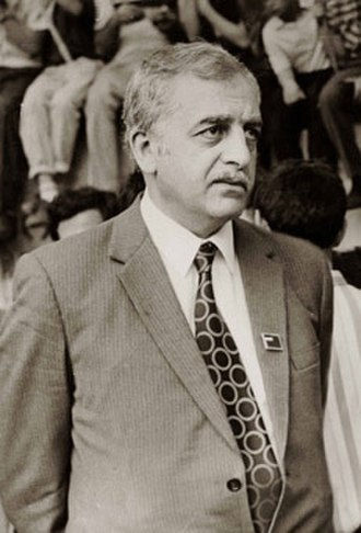 Chairperson of the Parliament of Georgia - Image: Zviad Gamsakhurdia, Tbilisi, 1988