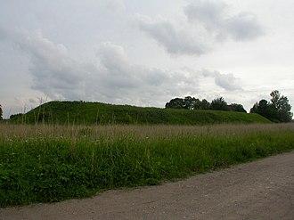Daugavgrīva castle - Ruins of Daugavgrīva Medieval castle (2004)