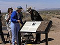 """""""First Army Fort in the Southwest"""" wayside at Fort Marcy in Santa Fe, NM (e694f446c555434a918e8d2da42649f8).JPG"""