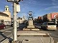 """Rocking Horse Venus Memorial, 1990–2008"" sculpture, E. North Avenue median at Maryland Avenue, Baltimore, MD 21202 (32907342418).jpg"
