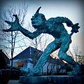"""Troll that smells Christian blood"" by Niels Hansen Jacobsen.jpg"