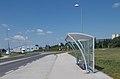 'AUDI gyár, 6-os porta' bus stop., 2018 Győr.jpg