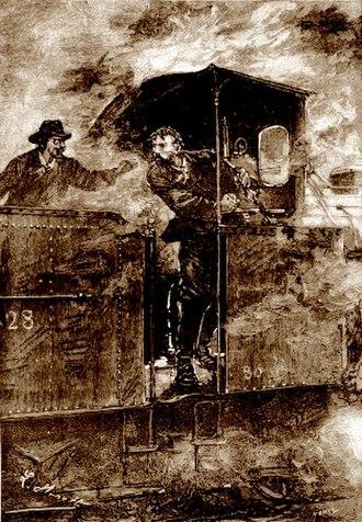 Claudius Bombarnac - Image: 'Claudius Bombarnac' by Léon Benett 50