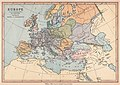 'Europe in the beginning of the 9th Century', 1878 map.jpg