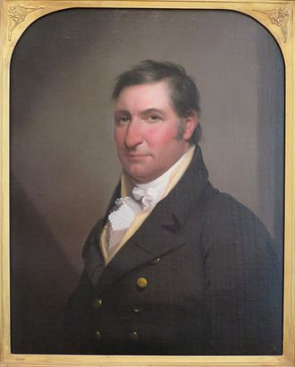 New York's 11th congressional district - Image: 'Portrait of General Erastus Root' by Rembrandt Peale, High Museum