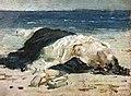 (Albi) Femme sur une plage - Fernand Cormon - vers 1874.jpg