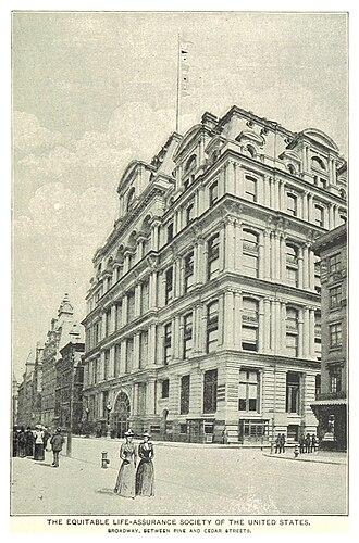 Equitable Life Building (Manhattan) - circa 1890