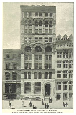 U.S. Trust - 46 and 47 Wall Street, early 1890s