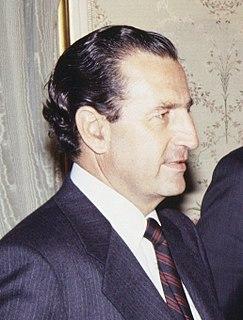 Rodrigo Borja Cevallos President of Ecuador