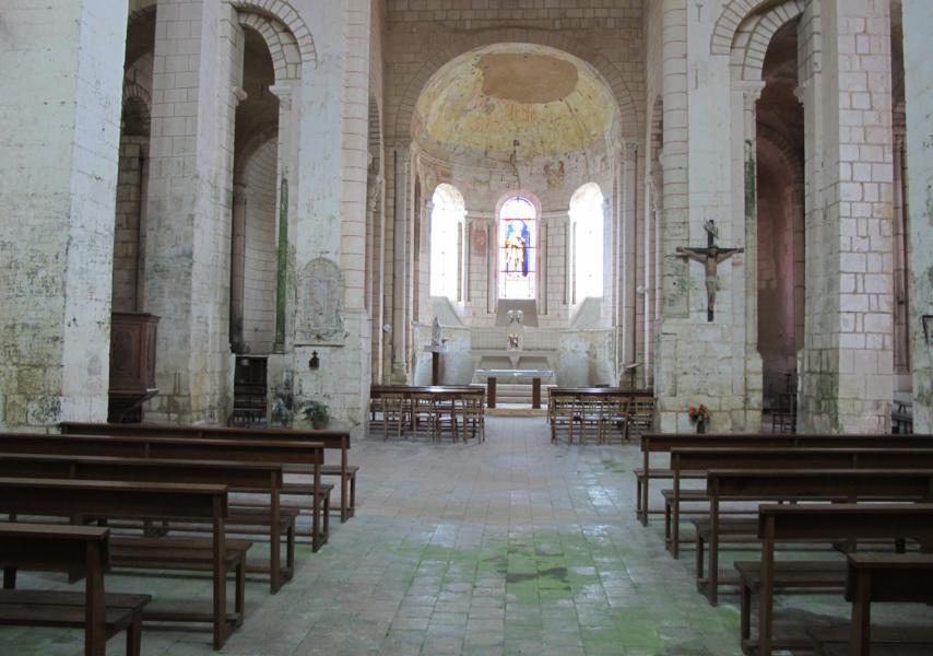 Église de Meobecq, France
